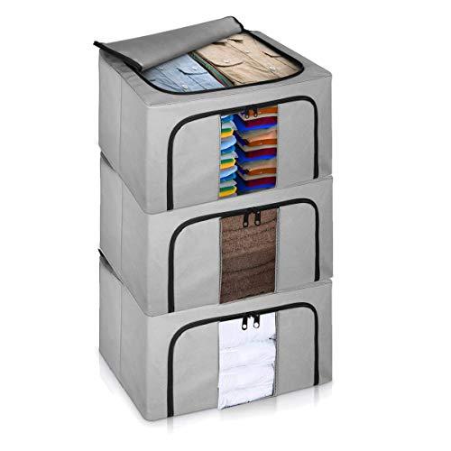 LIVIVO Set of 3 Storage Bags Box...