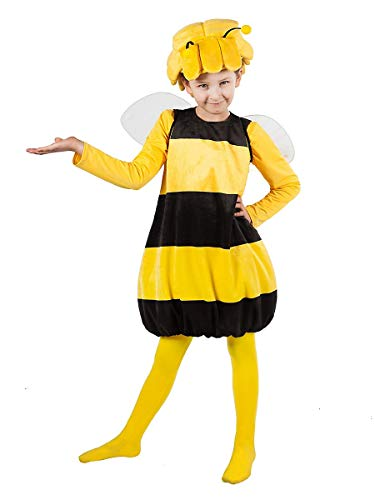 Biene Maja Kostüm für Kinder 2-teilig (122-128) (Kind Willie Kostüm)