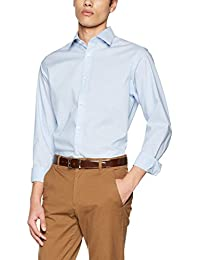 SELECTED HOMME Herren Businesshemd Shdonepen-Aly Shirt LS Dobby Sts