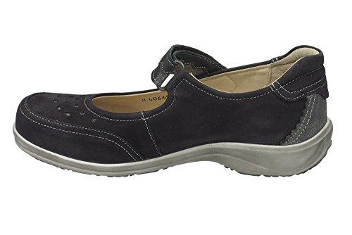 Dr.Brinkmann 840669 Cushy donna scarpe larghezza H 1/2 Nero