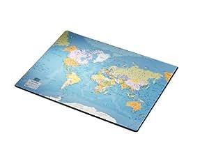 Esselte Sous-main carte du monde Multicolore