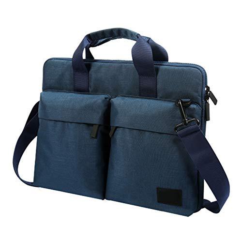 "HONGBI 12-15.6 Zoll Laptoptasche Aktentaschen Handtasche Tragetasche Schulter Tasche Notebooktasche Laptop Sleeve Laptop hülle Blau 15.6\""(41.5x3x30cm)"