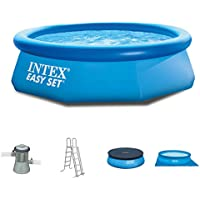 Intex 305x 76cm Easy Pool 281221Set completo Filtro Pompa, testa, a e UPLANE