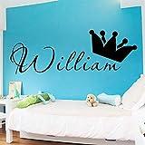 nkfrjz Nouveau nom Protection de l'environnement Autocollants en Vinyle pour la Chambre d'enfants Salon décoration décoration Accessoires 30x85 cm...