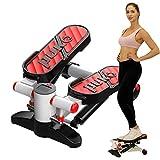 Air Climber Aerobic Fitness Step Stair Stepper Twist Übung Machine LED Monitor 38 Grad Ergonomic Design Red