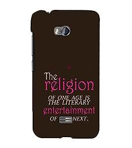 Fuson Designer Back Case Cover for Micromax Bolt Q336 (The Religion Theme)