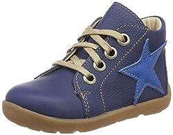 Däumling Unisex Baby Posch Sneaker, Blau (Nappa Cf Jeans 36), 21 EU