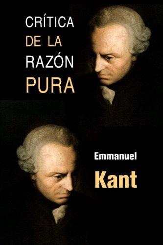 Crítica de la razón pura por Emmanuel Kant
