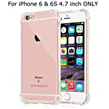 Egotude Shock Proof Anti Scratch Hard Back Cover Case for iPhone 6