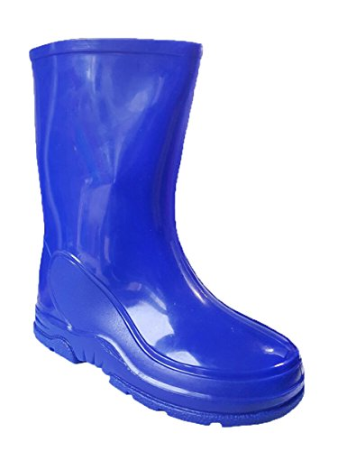 Hari Deals Kids Boys Childrens Rubber Rain Snow Boots Wellies Wellingtons Boots