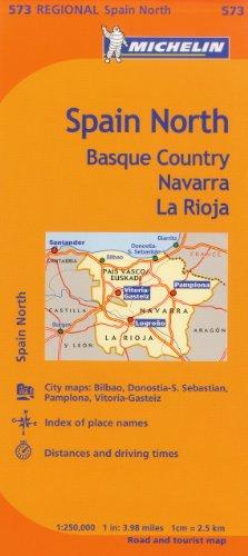 Spain: North (Michelin) por Michelin Travel & Lifestyle