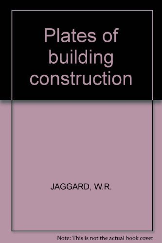 Plates of building construction