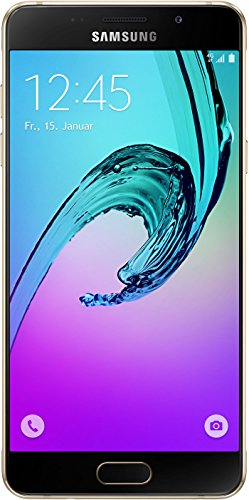 Samsung Galaxy A5 (2016) Smartphone (5,2 Zoll (13,22 cm) Touch-Display, 16 GB Speicher, Android 5.1) gold