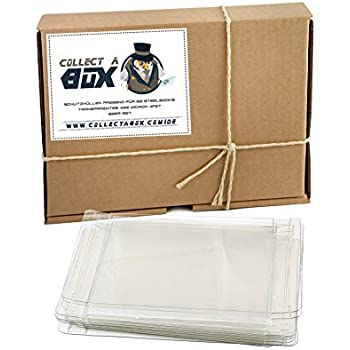 Collect a Box Premium Schutzhüllen für Sammler | Unfassbar robust und langlebig | Ideal für G2 Steelbooks | Kristallklar | Für Blu-ray, PS3, PS4 und Xbox One (20er Pack)