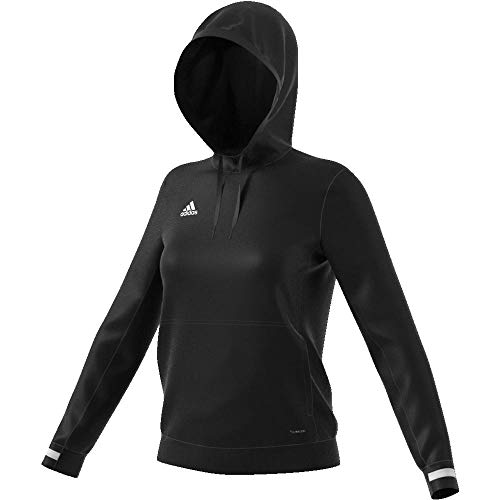 adidas Damen T19 Sweatshirt, Black/White, S