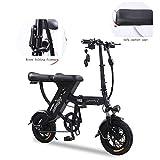 ZZQ Elektrofahrrad, Faltbares E-Bike für Erwachsene, Faltrad, Klapprad Pedelec mit Lithium-Akku