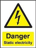 Elektrische ACHTUNG Warnzeichen Gefahr Statische Strom