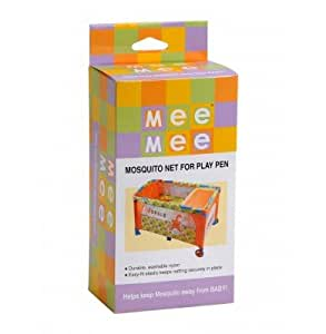 Mee Mee Mosquito Nets for Play Pen (White)