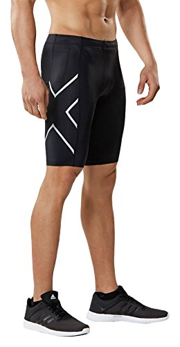 2XU Herren Tr2 Compression Shorts Hose Black