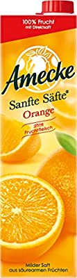 Amecke Sanfte Säfte Orange, 6er Pack (6 x 1 l)