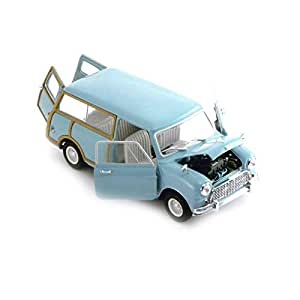Kyosho - 8194bl - Véhicule Miniature - Modèle À L'échelle - Austin Mini Countryman - Echelle 1/18