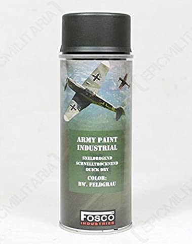 400ml Military Style SPRAY PAINT (Army Spray Paint - Field Grey)