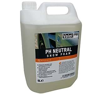valetpro ph neutral snow foam shampoo 5 liter. Black Bedroom Furniture Sets. Home Design Ideas