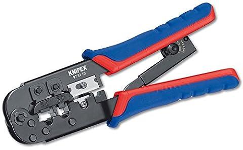 Knipex 975110 Modular Crimpzange Multi Kabelwerkzeug Für RJ11-RJ12-RJ45