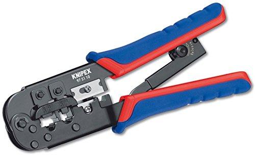 Preisvergleich Produktbild Knipex 975110 Modular Crimpzange Multi Kabelwerkzeug Für RJ11-RJ12-RJ45
