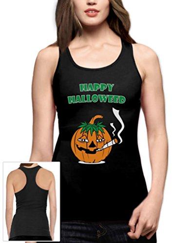 d Racerback Schwarz X-Large Tank Top (Stoner Halloween Kostüm)
