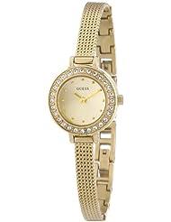 Guess Damen-Armbanduhr XS Analog Quarz Edelstahl beschichtet W0133L2