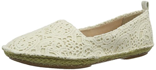 Clarks Women's Clovelly Sun Espadrilles, Beige (Cream), 4.5 UK