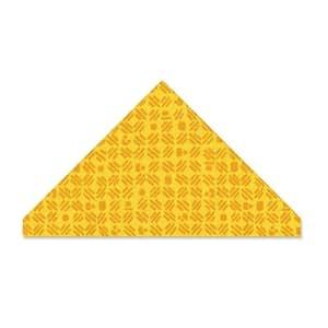 Sizzix Bigz Matrice de découpe non finie en forme de triangle Couleurs variées Grand format 7,9 x 14 cm