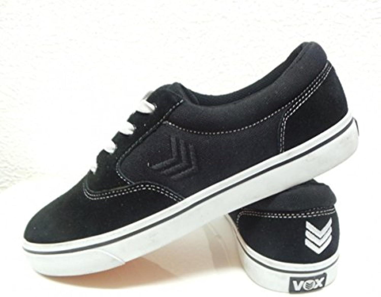 Vox Skateboard Schuhe Kruzer Black/White/ Black  Billig und erschwinglich Im Verkauf