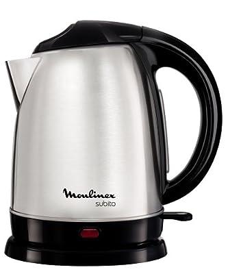 Moulinex - BY530F - Bouilloire Electrique, 2400 watts, Noir Acier inoxydable
