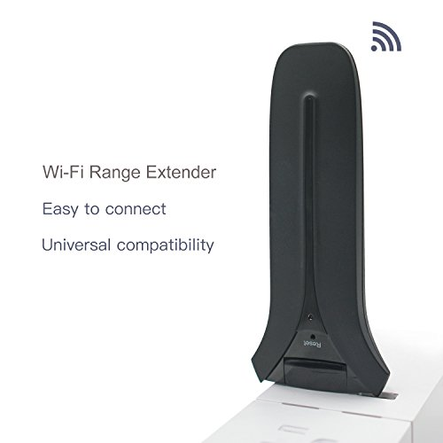 Meross 300 Mbit/s USB Mini WLAN Repeater Wireless Range Extender Wi-Fi Signal Booster, 2,4GHz IEEE 802.11 b/g/n, Wireless Sicherheit unterstützt 64/128 bit WEP, WPA-PSK/WPA2-PSK (Kindle Fire-telefon-support)