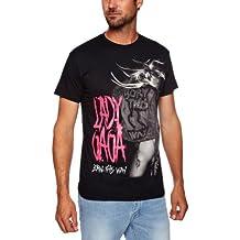 Lady Gaga - Born This Way  Herren T- Shirt Schwarz XL