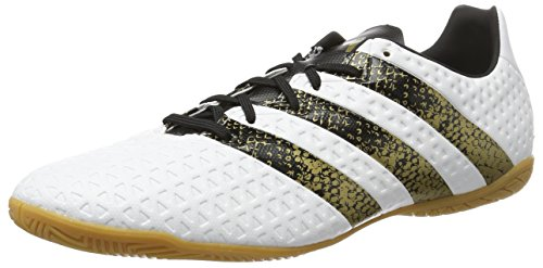 huge selection of cef46 75228 adidas Ace 16.4 IN, Botas de Fútbol para Hombre, Blanco (Ftwbla   Negbas
