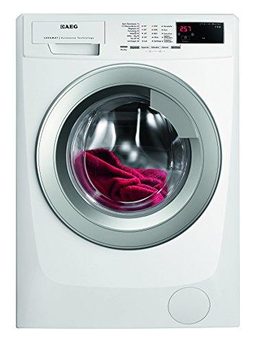 Machine à laver AEG Lavamat l69670vfl FL/A + + +/171kWh/an/1600tr/min, 7kg/9499L/AN/aquac EUROCONTROL/Porte Argenté/blanc AEG