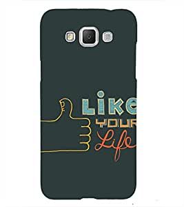 Thumbs UP 3D Hard Polycarbonate Designer Back Case Cover for Samsung Galaxy Grand Max