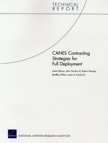 Canes Contracting Strategies for Full Deployment (Technical Report) (Marine-artillerie-corps)