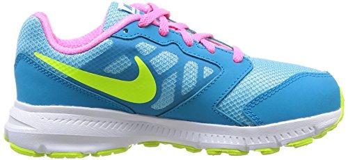 Nike Downshifter 6 (Gs/Ps) Scarpe Sportive, Ragazzo Rosa/Bianco/Blu