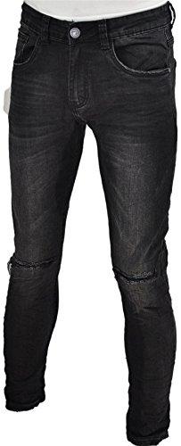 pantalon jeans skinny destroy homme Destroy Collection noir028