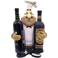 TDPYT Chef Wine Rack/Restaurante / Cajero Decoración/Artesanías De Resina