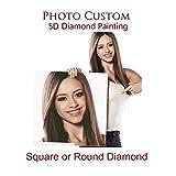dytinine 5D Diamant Full Malerei Benutzerdefinierte Foto DIY Stickerei Painting Kreuz Stich Diamond Dekoration