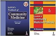 Community Medicine Combo : IAPSM's Textbook of Community Medicine + Essentials of Community Medicine Pract