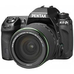 Pentax K-5+ SMC DA 18-135mm Jeu de caméra SLR 16.3MP CMOS 4928x 3264pixels Noir-Appareil photo numérique (16,3MP, 4928x 3264pixels, CMOS, 7,5x, Full HD, Noir)