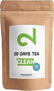 DUAL 28 Days Detox Tea - Té desintoxicante | Para Pérdida de Peso |Té Adelgazante y Purificador| Infusión de D