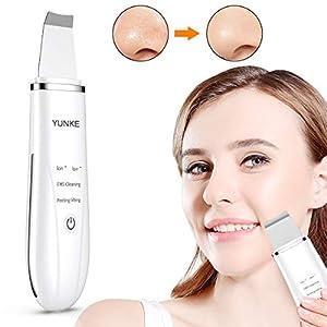 Dispositivo Ultrasónico de Limpieza de la Piel Facial, Depurador de piel Ultrasónico, Removedor de Espinilla con Peeling…