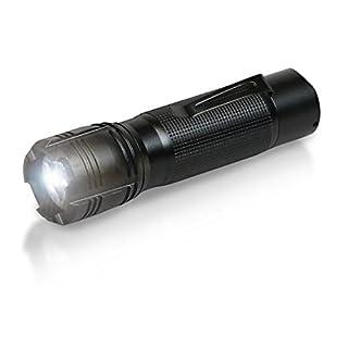 ANSMANN 1600-0036 Agent 5 LED Taschenlampe 13 cm mit Präzisionslinse und extrem robustem Gehäuse 5 Watt LED